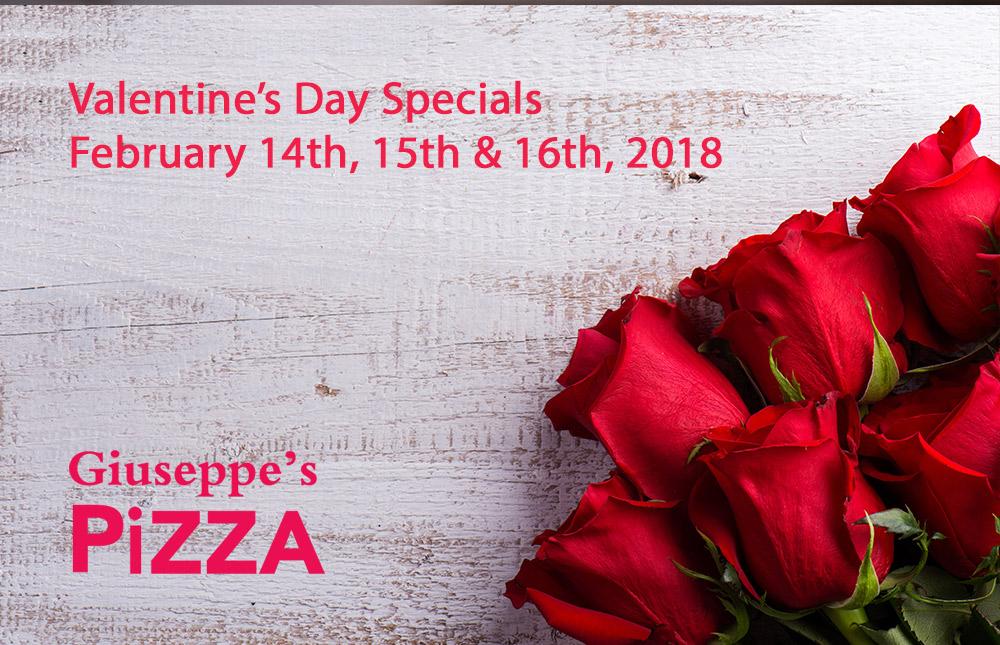 Valentine's Day Specials 2018